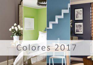 Los colores de pintura para el año 2017