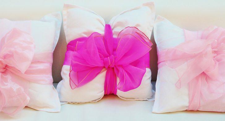Almohadones rosados