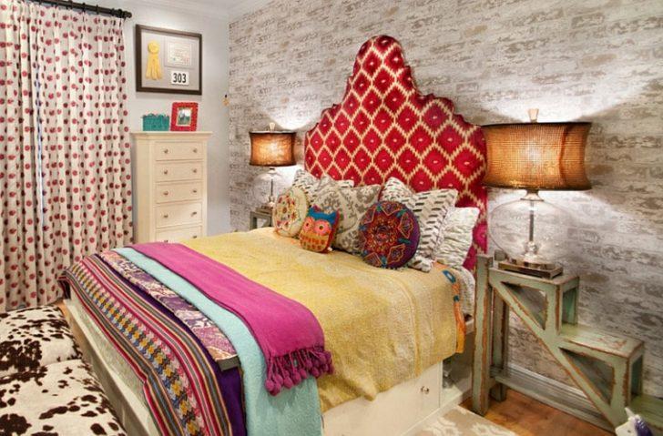 Colorido dormitorio