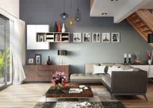 Decoración y colores para ambientes amplios