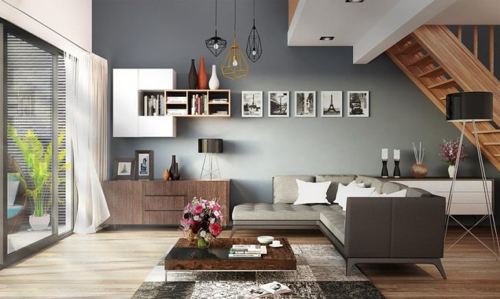 Decoraci n y colores para ambientes amplios casa y color for Decoracion ambientes