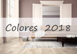 Los colores de pintura del 2018