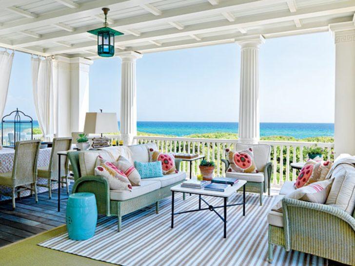 Terraza de playa
