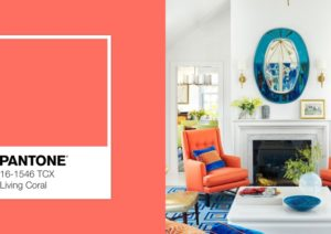 Living Coral, el color Pantone del año 2019
