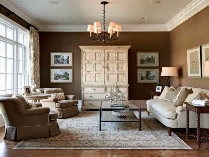 Living Room Paint Color Ideas With Wood Trim Yellow