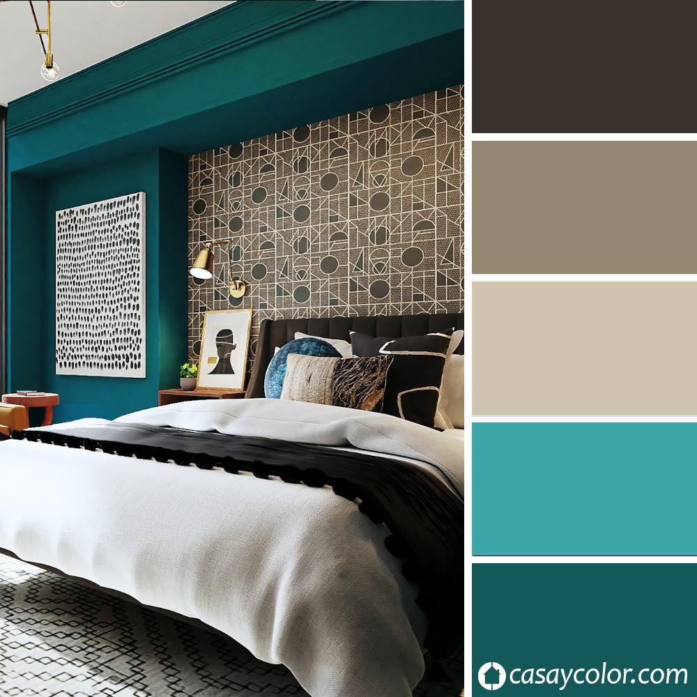 Cuál es el color Teal o Verde Azulado, y cómo combinarlo