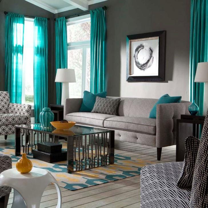 Cortinas y almohadones color Teal