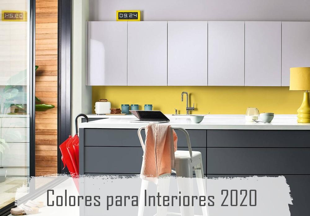 Los Colores de Pintura para Interiores del 2020