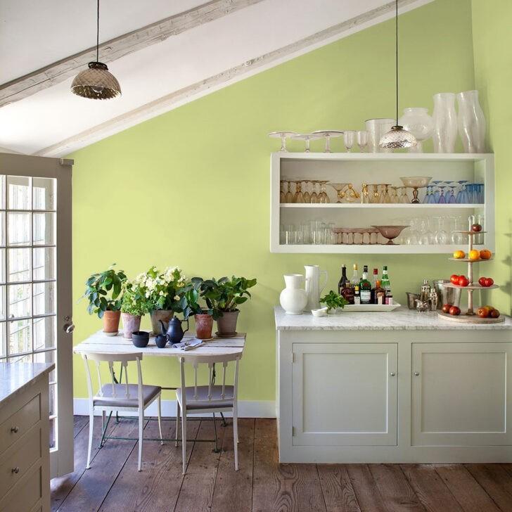 Cocina verde limón